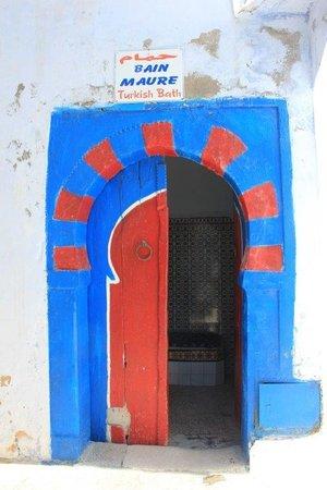 Medina of Hammamet: Tipica puerta
