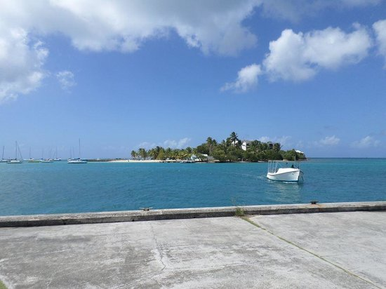 Hotel on the Cay: Island and Hotel from Boardwalk