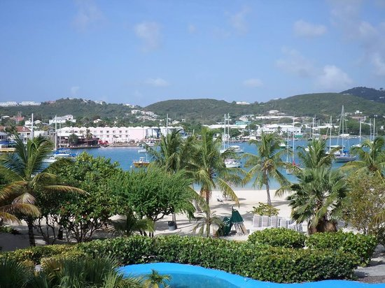 Hotel on the Cay: View from the Hotel Upper Deck!