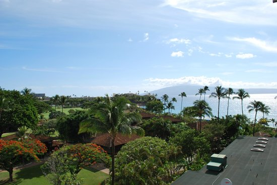 Royal Lahaina Resort : Vista mare..