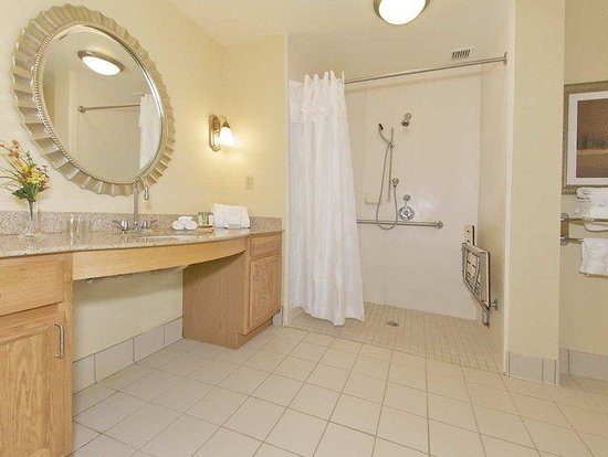 Homewood Suites by Hilton Newark/Wilmington South: Roll In Shower