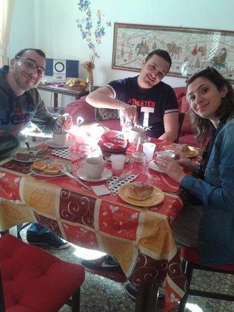 Parini House: A colazione!