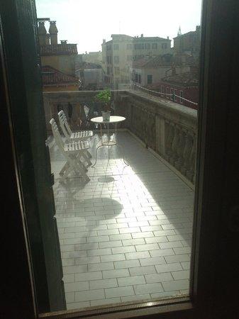L'Imbarcadero: il terrazzo privato