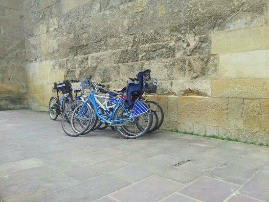 Cordoba en Bicicleta: Vigilando las bicicletas en Córdoba