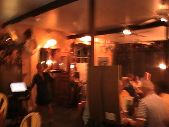 Little Bar Restaurant : Inside restaurant