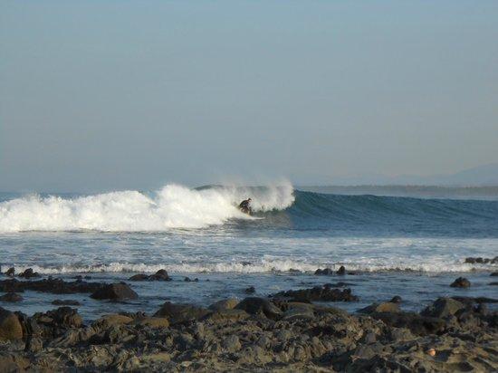 Troncones Point Hostel: Surf spot