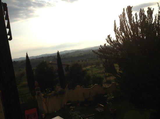 Villa Il Colle: panorama dalla camera