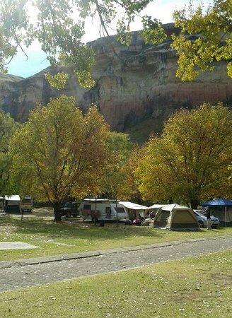 camping site - picture of glen reenen golden gate np, clarens