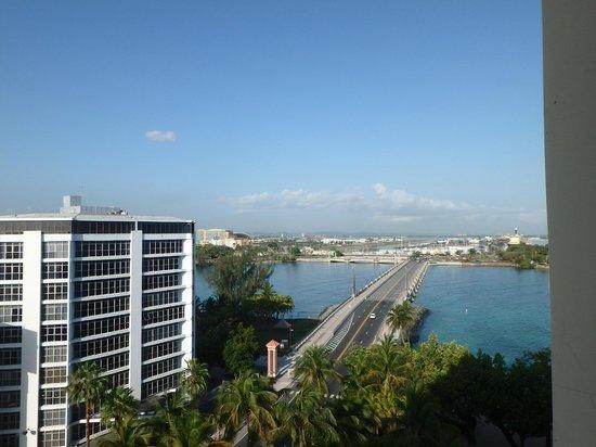 The Condado Plaza Hilton: View from My rooms balcony