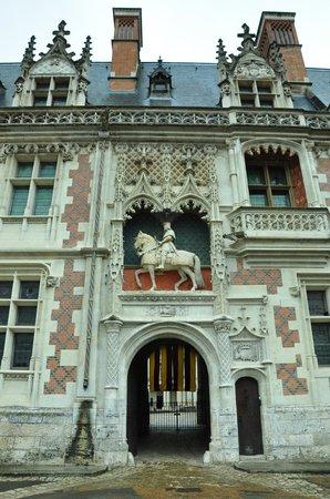 Chateau Royal de Blois: Ingresso al Castello di Blois