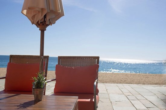 Restaurant La Calma Chill Out : Lounge by the sea