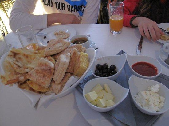 Blanco Riad Hotel & Restaurant: Breakfast
