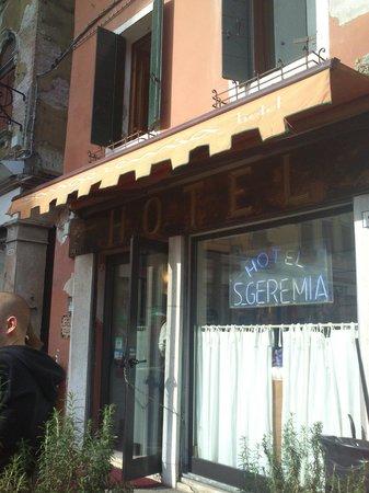Hotel San Geremia: ingresso
