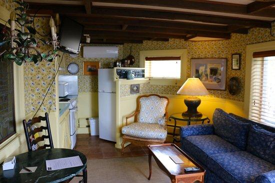 Land's End Inn: Our room