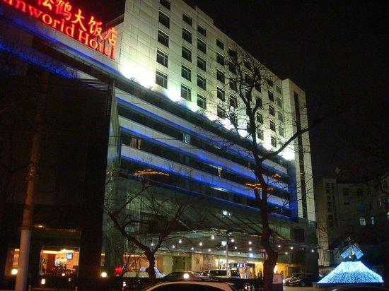 Sunworld Hotel Beijing: Frente do Hotel