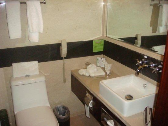 Sunworld Hotel Beijing: Banheiro