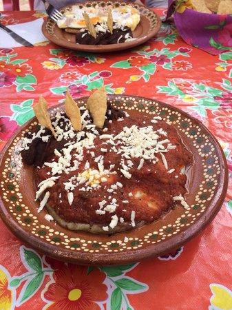 Yerbabuena del Sisal Restaurante : Huevos Rancheros