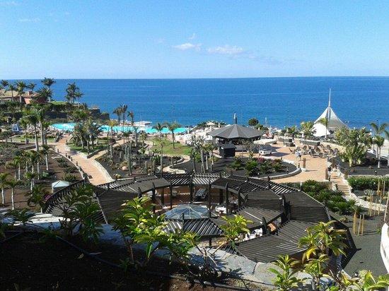 H10 Playa Meloneras Palace: Uitzicht kamer privilege zalig rustig