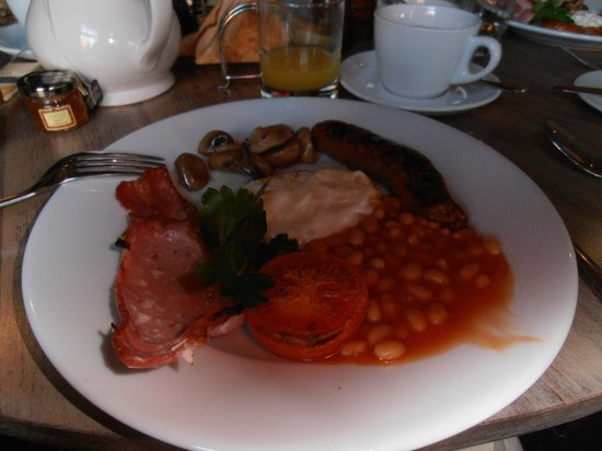 The Pembroke Arms Hotel: Petit déjeuner