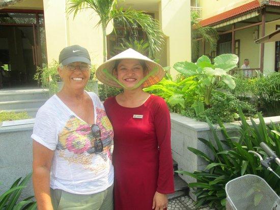 Essence Hoi An Hotel & SPA: Friendly Staff Member