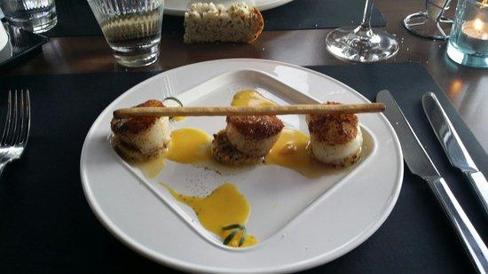 Brasserie Stefanie's : La coquille.....divin...