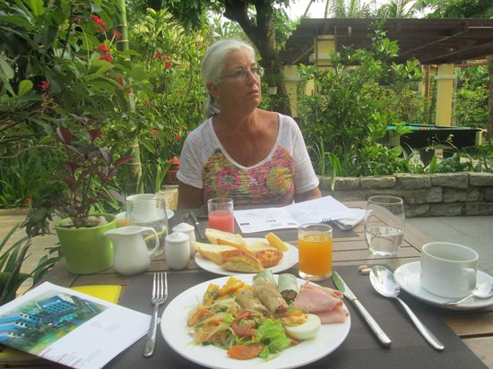 Essence Hoi An Hotel & SPA: My Breakfast or part of it!