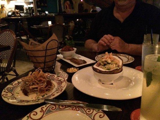 Cuba Libre Restaurant & Rum Bar - Orlando: Array of food