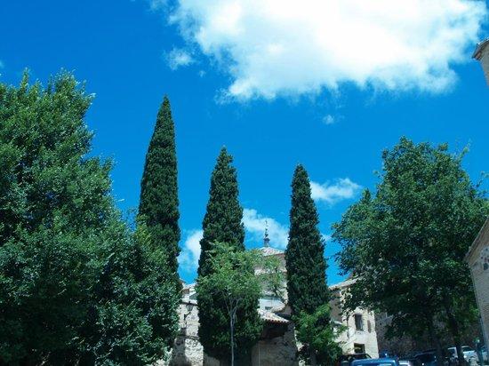 Museo del Greco: прилегающая улочка
