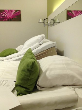 Scandic S:t Jorgen: Ställbar säng!