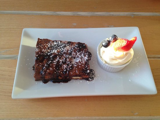 The Bay View Inn: Chocolate Brownie