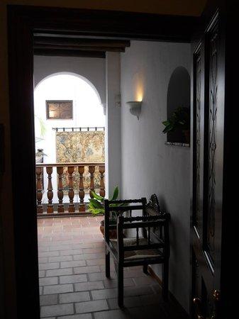 Hotel San Gabriel: Mezzanine desservant les chambres