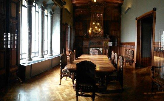 Palais Güell : A l'intérieur