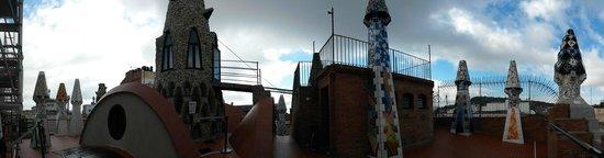 Palau Güell: La terrasse