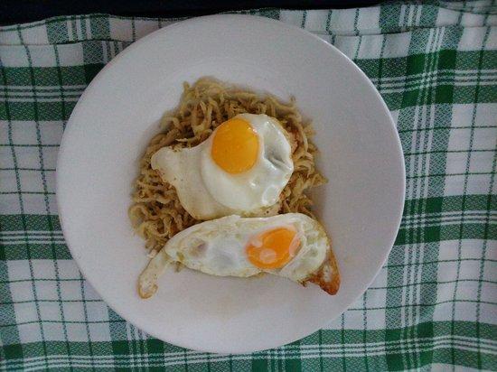 Meson Casa Blas: Chanquetes con huevos rotos