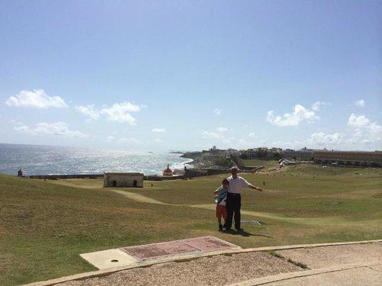 Castillo San Felipe del Morro: view