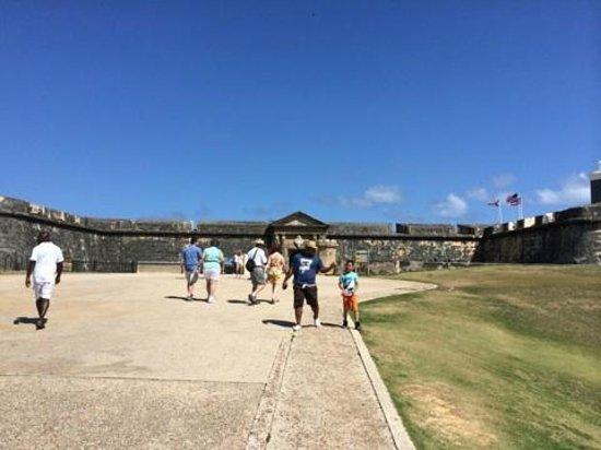 Castillo San Felipe del Morro: entrance
