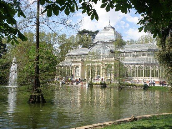 Parque del Retiro: Crystal Palace