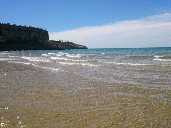 Hotel Marinada : playa de capellans a 5 Minutos andando del hotel