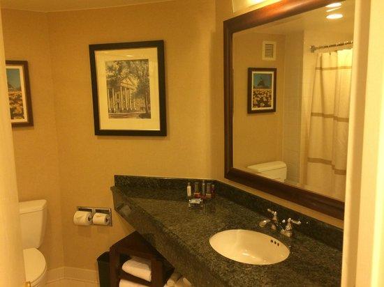 Crystal Gateway Marriott: Bathroom