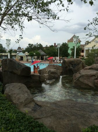 Disney's Saratoga Springs Resort & Spa: Main pool area