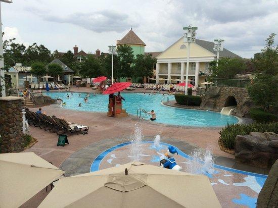 Disney's Saratoga Springs Resort & Spa: Main pool area