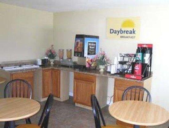 Days Inn Elizabeth City : Breakfast Area