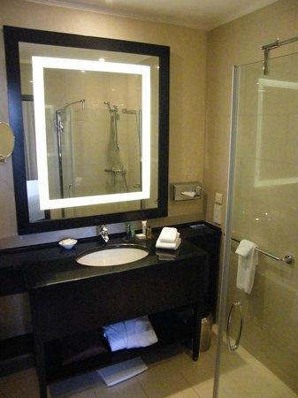 Hilton Moscow Leningradskaya: the bathroom...