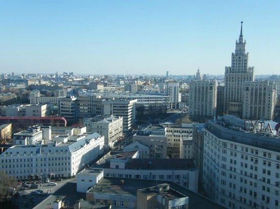 Hilton Moscow Leningradskaya: views from room...
