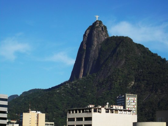 Mercure Botafogo Mourisco : View from room balcony