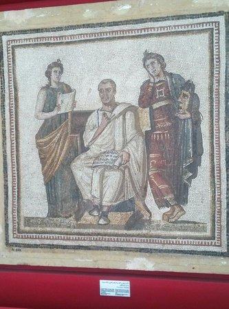 Musée National du Bardo : Poeta Virgilio e le sue muse.