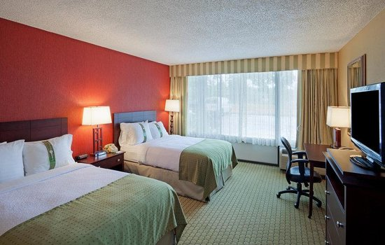 Holiday Inn Nashua: Double Bed Guest Room