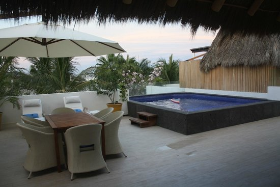 Vallarta Gardens, A Boutique Private Residence Club : Private Pool and Bar-B-Que area