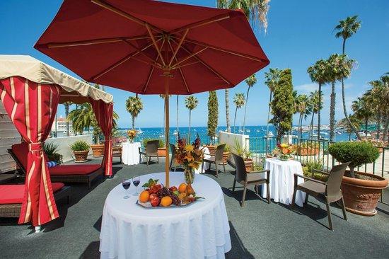 Portofino Hotel : Our Patio Deck