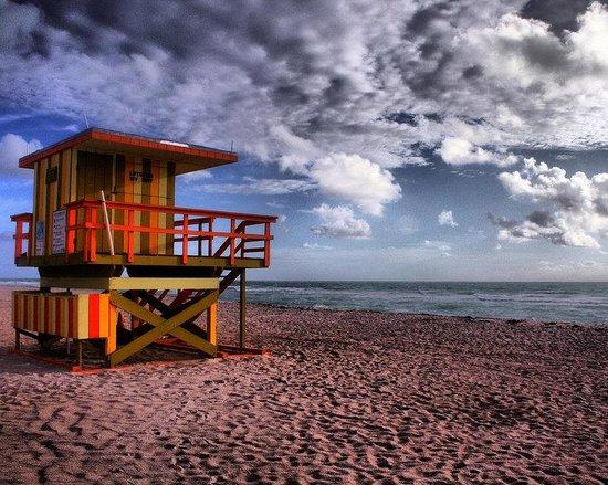 Holiday Inn Miami Beach: Early morning on Miami Beach